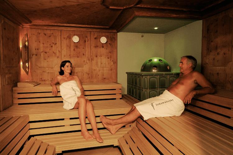 Johannesbad Schwitzstube