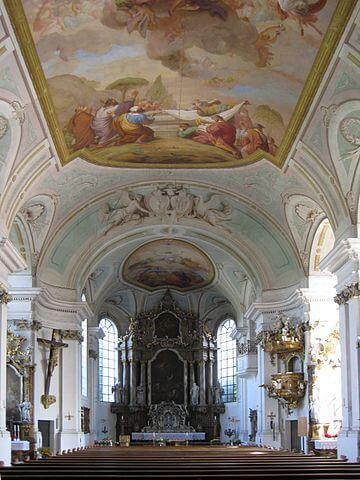 Klosterkirche Asbach Innenansicht