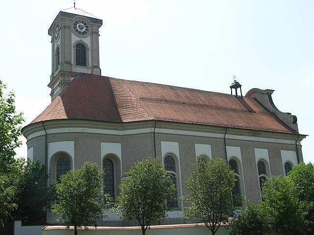 Klosterkirche Asbach Aussenansicht